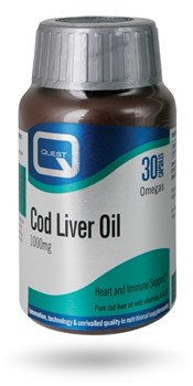 Picture of QUEST COD LIVER OIL 1000mg 30 Tabs