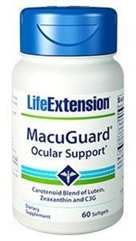 Picture of Life Extension MACUGUARD Ocular Support 60softgels