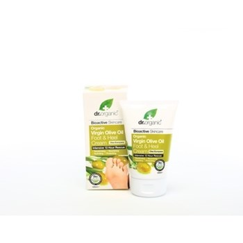 Picture of DR.ORGANIC Organic Virgin Olive Oil Foot & Heel Cream 125ml