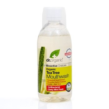 Picture of DR.ORGANIC Organic Tea Tree Mouthwash 500ml