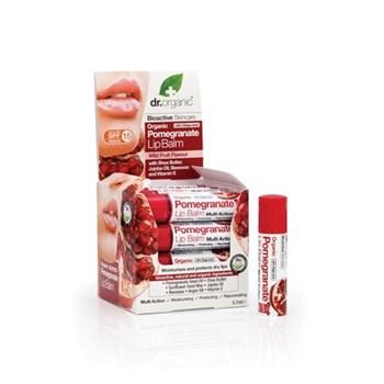 Picture of DR.ORGANIC Organic Pomegranate Lip Balm 5.7ml