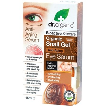 Picture of DR.ORGANIC Organic Snail Gel Eye Serum 15ml