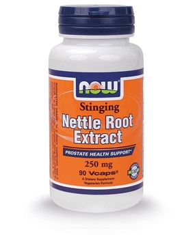 Picture of NOW NETTLE ROOT EXTRACT 250mg 90vegcaps