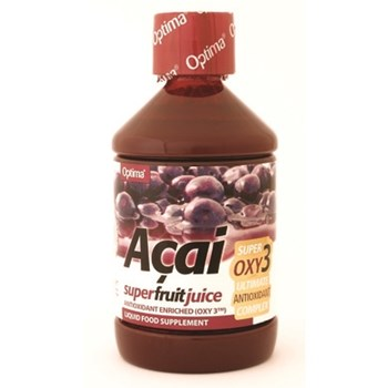 Picture of OPTIMA ACAI SUPER FRUIT JUICE with Oxy3 ΕΝΙΣΧΥΜΕΝΟΣ ΧΥΜΟΣ ΜΟΥΡΩΝ ACAI OPTIMA 500ml