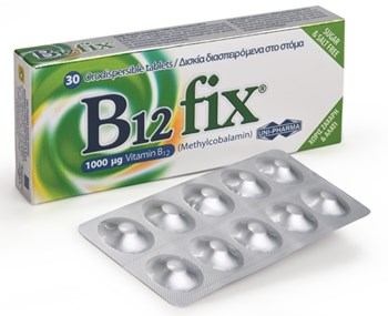 Picture of UNI-PHARMA B12 Fix 30tabs