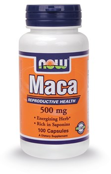 Picture of NOW MACA 500 mg 100caps