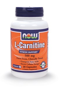 Picture of NOW L-CARNITINE 500 mg 30caps