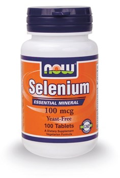 Picture of NOW SELENIUM 100mg 100 tabs