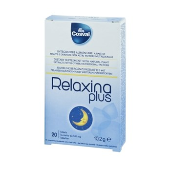 Picture of COSVAL RELAXINA PLUS 20Tabs