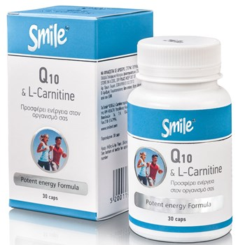 Picture of SMILE Q10 & CARNITINE 30caps