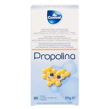 Picture of COSVAL PROPOLINA CHEWABLE 20Tabs