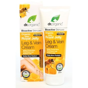 Picture of DR.ORGANIC Organic Royal Jelly Leg & Vein Cream 200ml