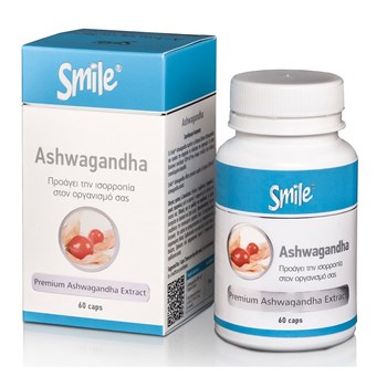 Picture of SMILE Ashwagandha 60 caps