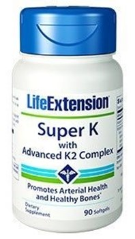 Picture of Life Extension Super K with advanced K2 Complex 90 softgels