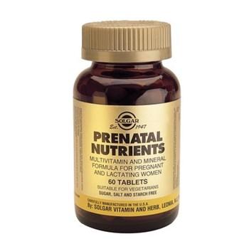 Picture of SOLGAR Prenatal Nutrients 120 tabs