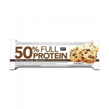 Picture of QNT 50% Full Protein Bar Chocolate Cookie 50gr