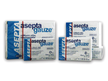 Picture of ASEPTA GAUZE ΓΑΖΑ ΑΠΛΗ 10Χ10 8PLY 100