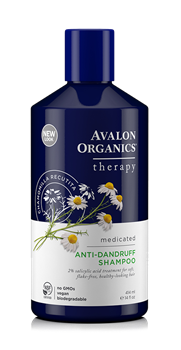 Picture of AVALON ORGANICS Therapy Anti-Dandruff Shampoo 414ml