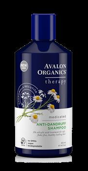 Picture of AVALON ORGANICS Therapy Anti-Dandruff Shampoo 414ml