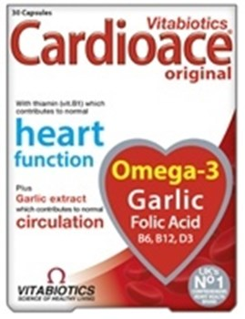 Picture of VITABIOTICS Cardioace Original 30 Caps