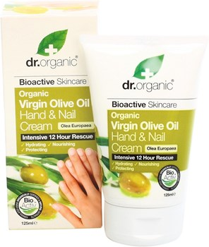 Picture of DR.ORGANIC Organic Olive Oil Hand & Nail Cream 125ml