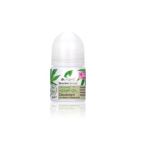 Picture of Dr. Organic Organic Hemp Oil Deodorant 50ml Φυσικό Αποσμητικό με Οργανικό Έλαιο Κάνναβης