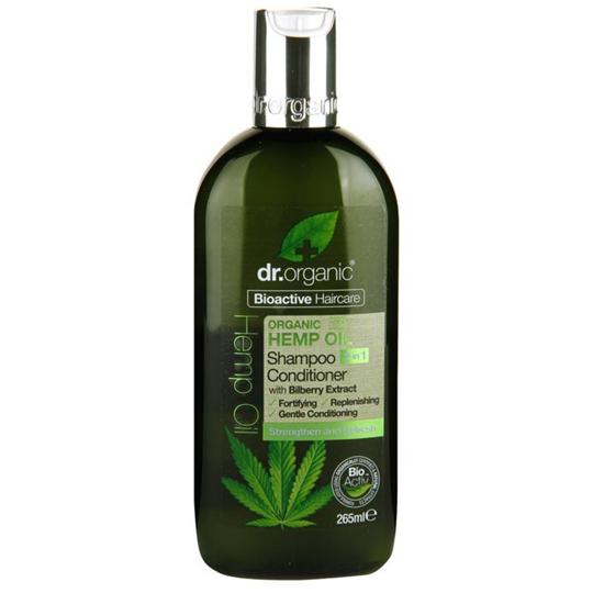 Picture of DR.ORGANIC Organic Hemp Oil Shampoo & Conditioner 265ml Σαμπουάν & Μαλακτική Κρέμα Μαλλιών με Έλαιο Κάνναβης