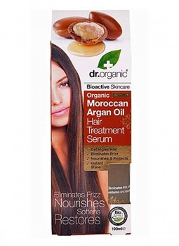 Picture of DR.ORGANIC Organic Moroccan Argan Oil Hair Treatment Serum 100ml