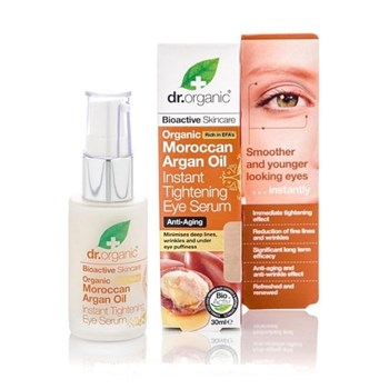 Picture of DR.ORGANIC Organic Moroccan Argan Oil Instant Tightening Eye Serum 30ml