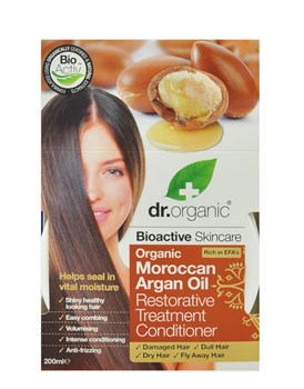 Picture of DR.ORGANIC Organic Moroccan Argan Oil Restorative Treatment Conditioner 200ml