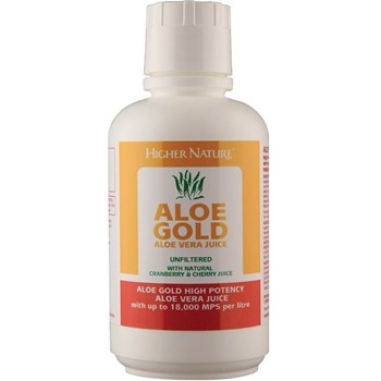 Picture of Higher Nature Aloe Gold Cherry & Cranberry 485ml