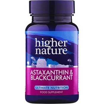 Picture of Higher Nature Astaxanthin and BlackCurrant 30 κάψουλες