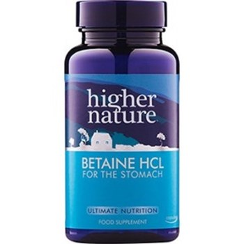 Picture of Higher Nature Betaine HCL 90 κάψουλες