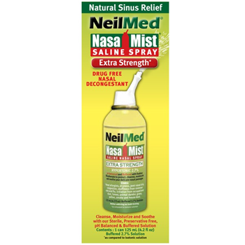 Picture of NEILMED NasaMist Saline Spray Extra Strength Hypertonic 125ml