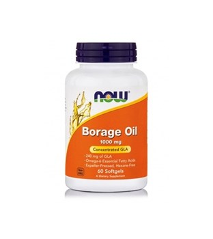 Picture of NOW Borage Oil 1000 mg Softgels