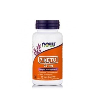 Picture of NOW 7-KETO® 25 mg - 90 Veg Capsules