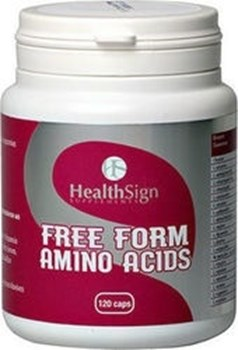 Picture of HEALTH SIGN Free Form Amino Acids 120 caps