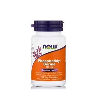 Picture of NOW Phosphatidyl Serine 100 mg Veg 30 Capsules