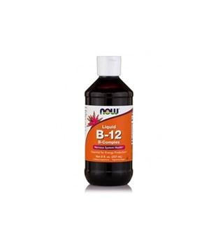 Picture of NOW Vitamin B-12 Complex Liquid 8oz