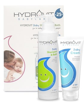 Picture of HYDROVIT Baby Promo Kit (Shampoo & Bath + Cream)