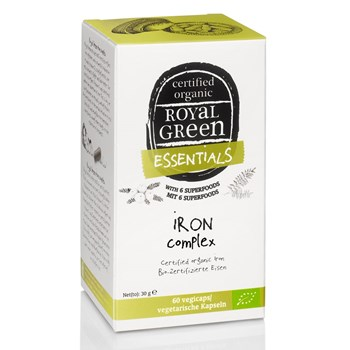 Picture of Royal Green Organic Iron Complex 60 vegicaps