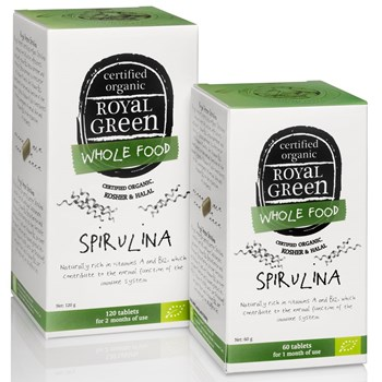 Picture of Royal Green Spirulina 60 Caps