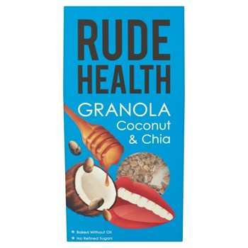 Picture of Rude Health, Granola Καρύδα & Chia Οργανική 450 γρ