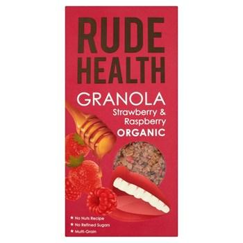 Picture of Rude Health, Granola Φράουλα & βατόμουρα Βιολογικά 450 γρ