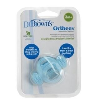 Picture of DR.BROWN'S Πιπίλα οδοντοφυΐας μπλε