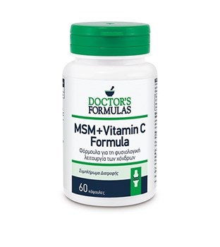 Picture of Doctor's Formulas MSM & VITAMIN C FORMULA 60 κάψουλες