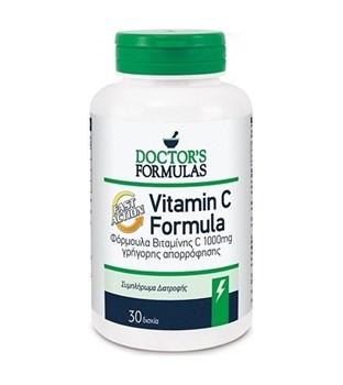 Picture of Doctor's Formulas VIT-C-1000 FORMULA 30tabs