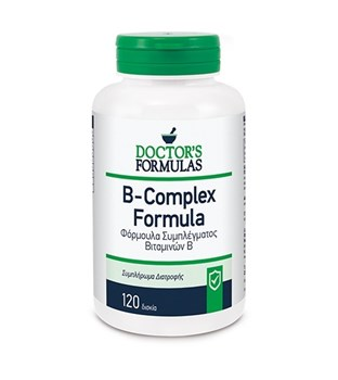 Picture of Doctor's Formulas B-COMPLEX FORMULA 120TABS