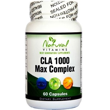 Picture of NATURAL VITAMINS CLA 1000mg with Fish Oil 60caps