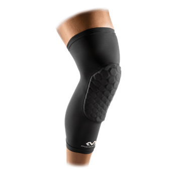 Picture of McDavid 6446 Hexpad Leg Protection Sleeves ζευγάρι Μαύρο